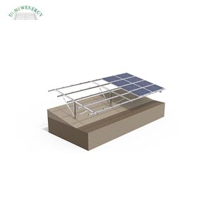 Steel single pole solar structure