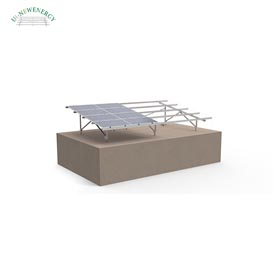 Steel single pole solar structure.